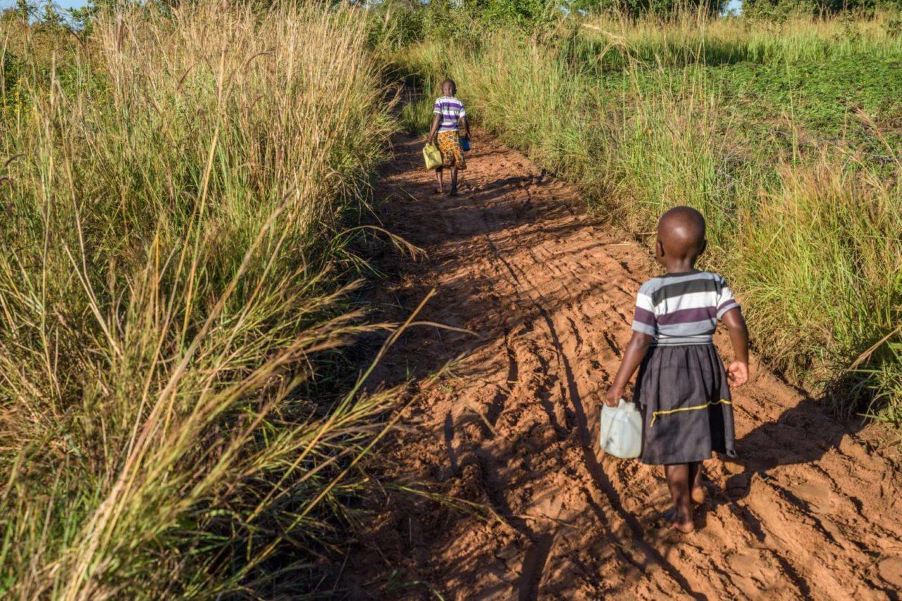 In Morungatuny, Uganda, 5-year-old Grace and 3-year-