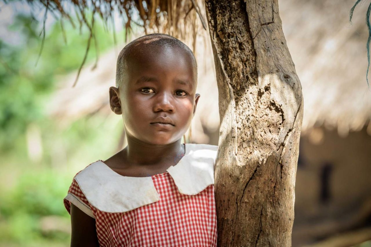 Grace dreams of becoming a nurse so she can help vaccinate children against diseases. (©2017 World Vision/photo by Jon Warren)