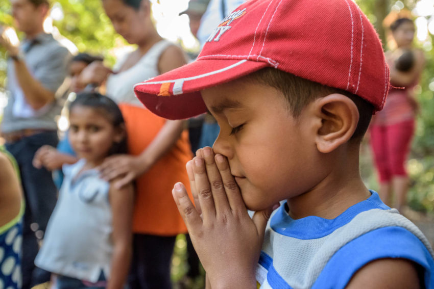 World Vision strengthens the faith of children around the world through programs designed to meet them where their need is greatest. Pray for children's faith.