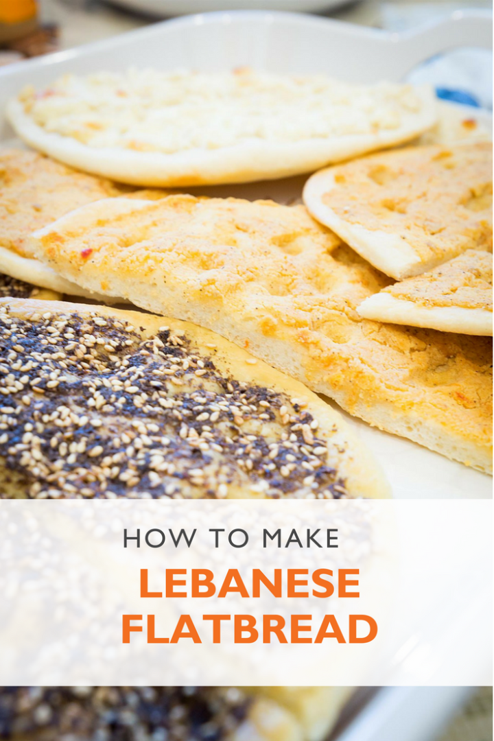 In the kitchen: Recipe for man'oushe, Lebanese flatbread | World Vision