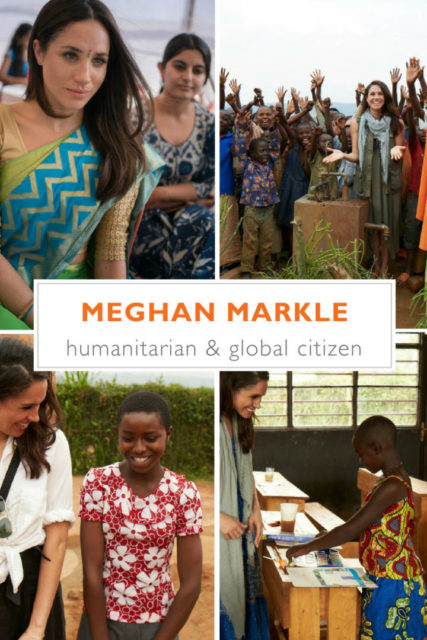 Meghan Markle humanitarian work with World Vision