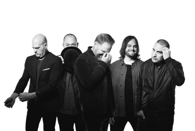 MercyMe has been certified triple platinum for sales of more than 3 million digital downloads. MercyMe is partnering with World Vision for its 2018 tour. (Photo courtesy of Brickhouse Entertainment)