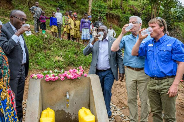 Rwanda water dedication