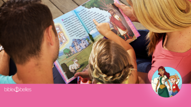 The Bible Belles book series gives today's generation of girls real heroes: showing them that character is the true measure of beauty and empowering them to be heard. Read about five biblical heroes who show girls that their voices matter.