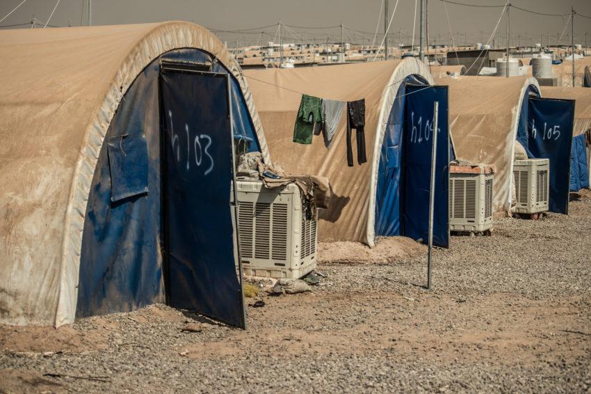 Hassan Sham camp in Iraq