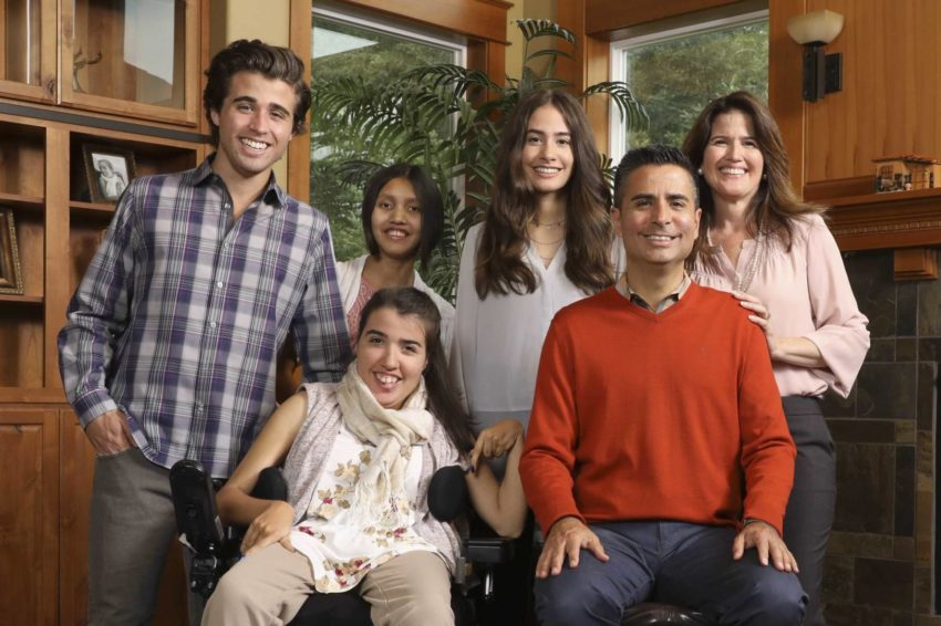 World Vision U.S. President-elect Edgar Sandoval with his family. Edgar and his family moved to the Pacific Northwest when he assumed the role of World Vision U.S. chief operating officer in 2015.
