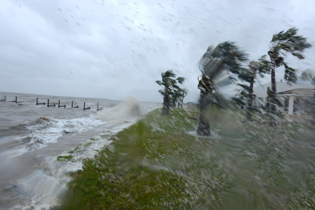 Hurricane facts_Harvey makes landfalls over Rockport, Texas, Aug. 26, 2017.