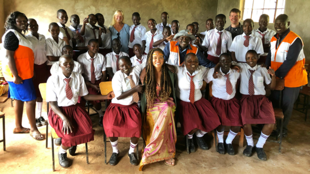 "End FGM: A school in Kenya is helping protect young girls from FGM and child marriage. This cause is a passion for blogger Breegan Jane, who recently met at-risk girls: ""some of the bravest I've ever encountered."" See how Breegan is fundraising to protect, educate, and empower more girls — and how you can too!"