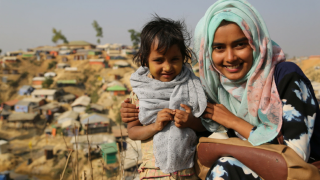 In the midst of the massive refugee crisis along the Myanmar-Bangladesh border, a 19-year-old woman found her calling as an interpreter for World Vision. Read how education empowered Tanjin and how she's found a hidden strength in helping refugee voices be heard.