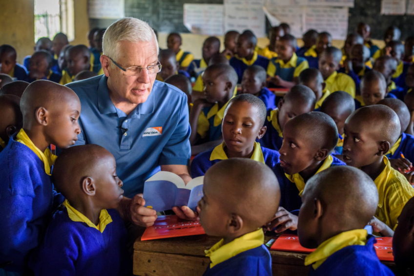 World Vision scored major victories in the war against poverty during Rich Stearns' 20-year presidency. He will retire effective Oct. 1, 2018.