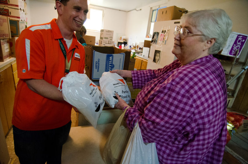 World Vision helps communities hit hard by the 2014 Oso mudslide.