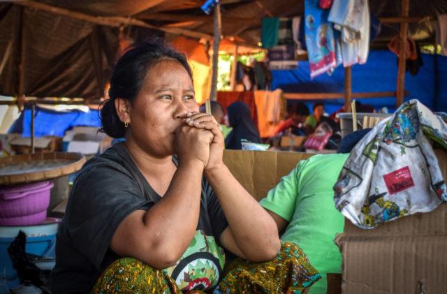 Survivor of Indonesia earthquake