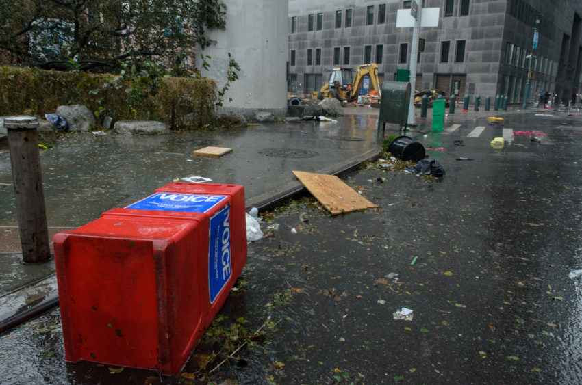 One of the costliest hurricanes in U.S. history, Hurricane Sandy brought 90 mph winds and record-breaking storm surges to New York City and other coastal areas of the East Coast.