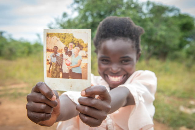 "Loveness, 11, was sponsored as a baby—one of the first children to be sponsored in Moyo. Her sponsor is Pastor John Crosby, who serves on the boards of WVI and WVUS. He has visited Loveness and her family. ""I wish I could see him,"" says Loveness."