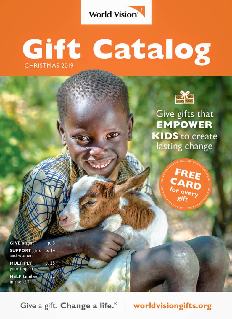 2019 Christmas Gift Catalog Gift Guide World Vision