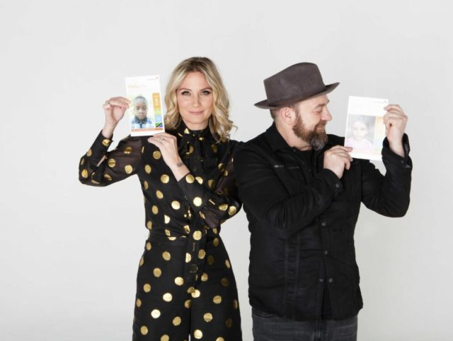 Sugarland group members Jennifer Nettles and Kristian Bush