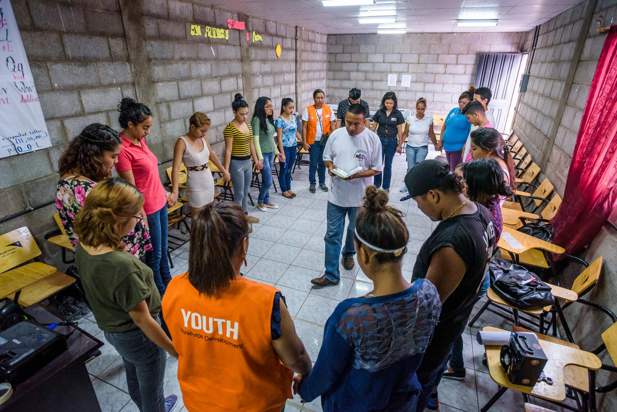 In places like Central America, training helps youth find their identity in Christ, rather than in gangs.