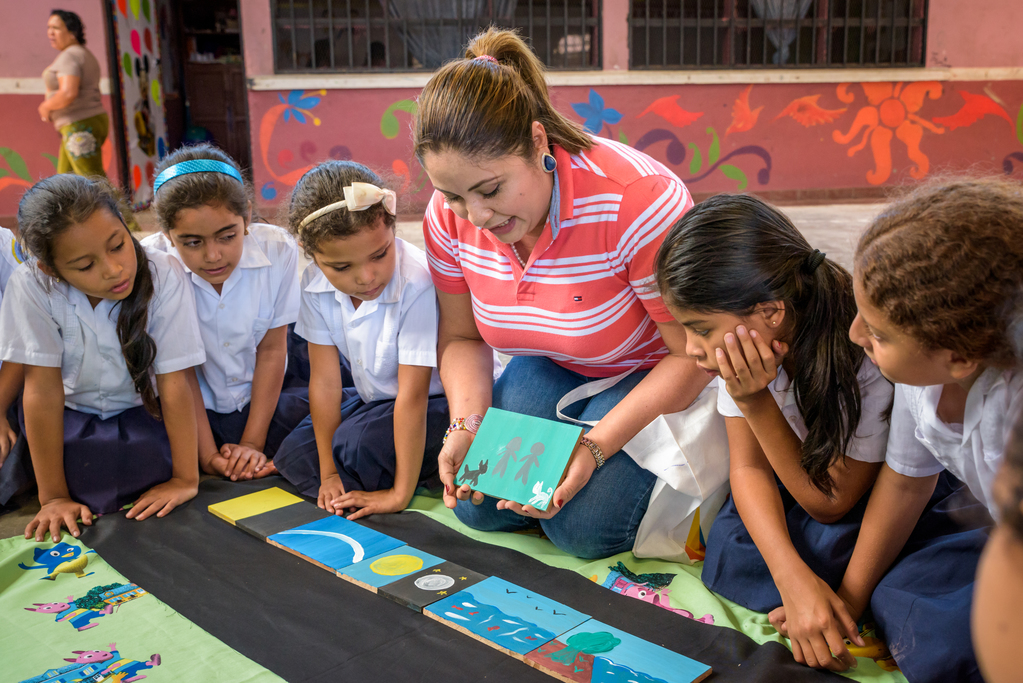 Children in Honduras no longer experience violence at school after teachers were trained in positive ways of interacting with students.