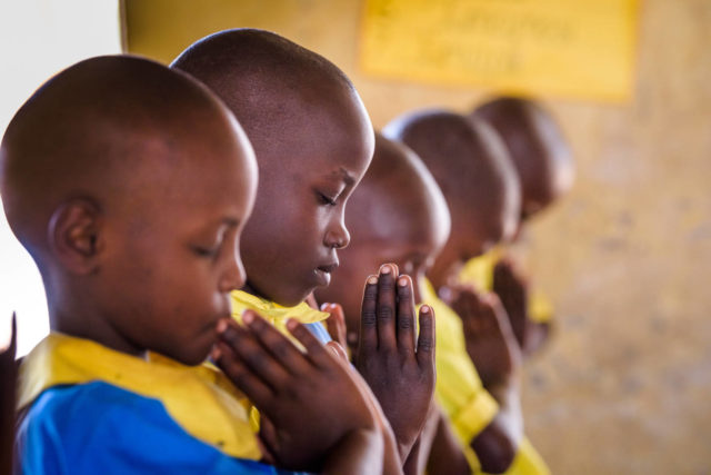 Nearly 3.5 million children and youth participate in World Vision discipleship and values education to strengthen their faith, their relationships, and their sense of self-worth.