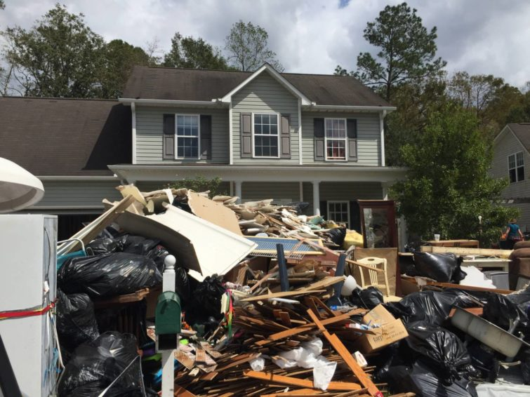 Hurricane Florence didn't dampen the spirits of Child Ambassador Randi Jo Rooks and her family. In fact, she found that sponsoring children through World Vision allowed her family to let go of material goods long before Hurricane Florence forced them to let go.