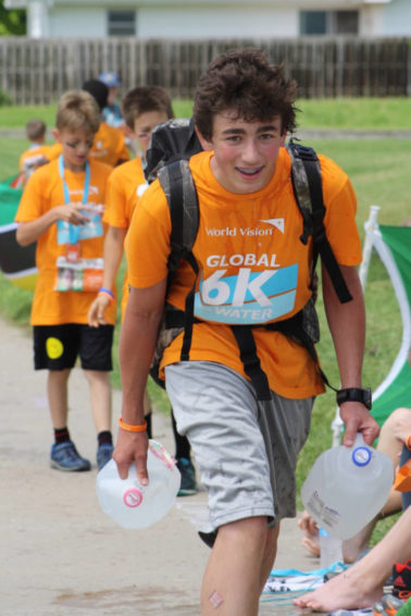 A local water crisis in a small Kansas town sparked a teacher's interest in bringing her community together as a World Vision Global 6K for Water host site.