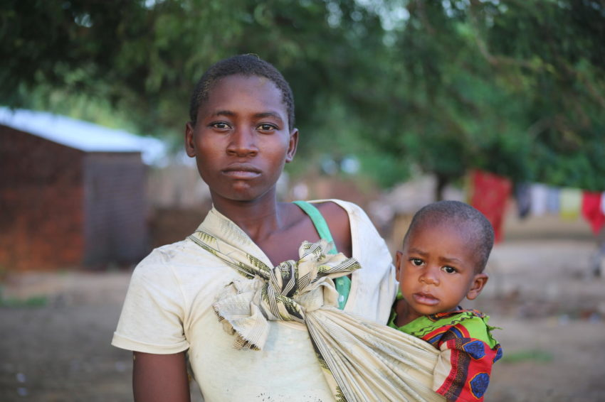 "Cyclone Idai affected more than 840,000 people in Malawi during March 2019. Ellen Hedimani held her son Timothy over her head to save him from flood waters that rapidly rose higher than her waist. While her family lost everything, Ellen, her husband, and their two children survived to start over. ""Children are scared, hungry, and living without proper sanitary facilities,"" says Hazel Nyathi, World Vision's national director for Malawi."