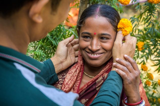 Here's a moment of water and love in Bangladesh that is so unexpected for a story about the impact of USAID-funded World Vision programs.