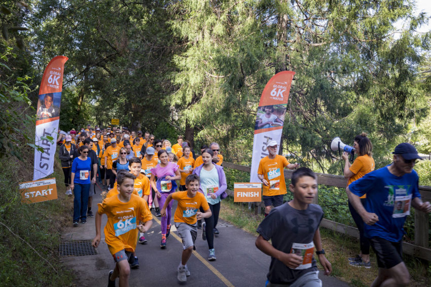 Green Valley Community Church in Placerville California at the Global 6K for Water in 2018.