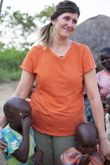 Not even six months after the Global 6K for Water, California pastor Nicole Wetmore traveled to Uganda to meet Grace, who appeared on her 6K race bib.