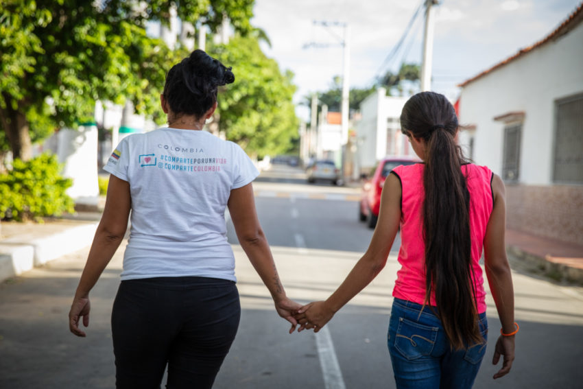 Jheyde, 13, is among more than 1 million Venezuelans in Colombia who left because of hunger and poverty. She finally found stability and success in school.