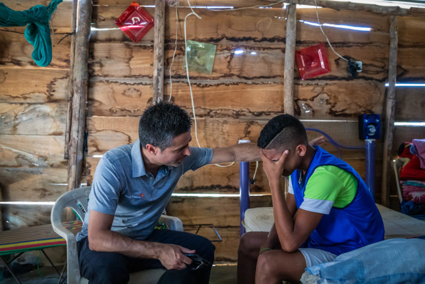 Teenager Armando left Venezuela with his family two years ago, but they still struggle find peace and stability, often going hungry so he can pursue their dream of becoming a lawyer.