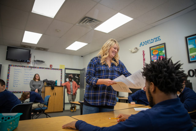 At a West Virginia alternative school, rigorous schedules and tough love get results, and the students will tell you themselves.