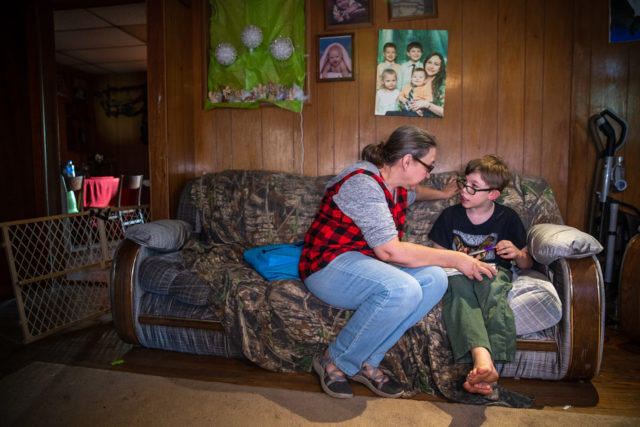 In rural West Virginia, Lucy Kirby provides essential care and nurture to eight children in need. Her's is a beautiful story of adoption in West Virginia.