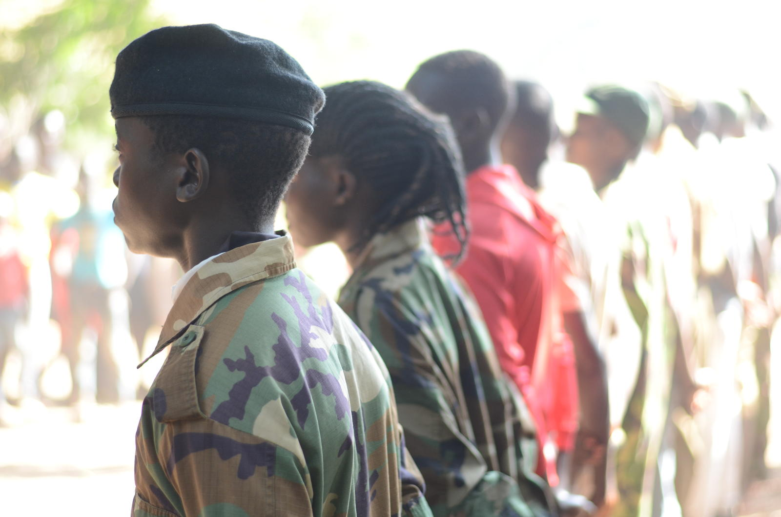 The U.N. estimates there are still 19,000 child soldiers in South Sudan. Hundreds of child soldiers were released by armed groups in January 2018. World Vision has supported them as they into community life and connect with their families. The boys and girls receive counseling, psychosocial support, education, and jobs skills training from World Vision.