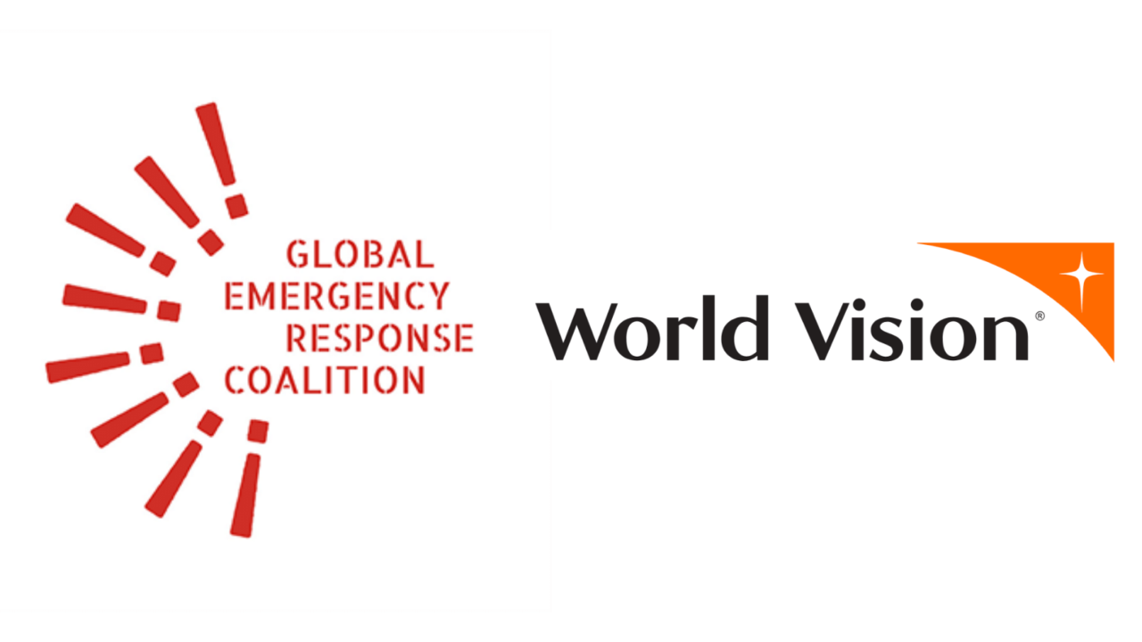 Global Emergency Response Coalition and World Vision logos