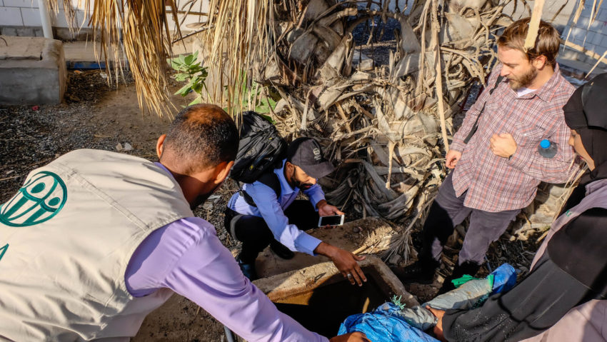 The Yemen civil war has destroyed schools, hospitals, and other infrastructure. World Vision visits a school in Yemen to hear about their challenges related to providing students with water.