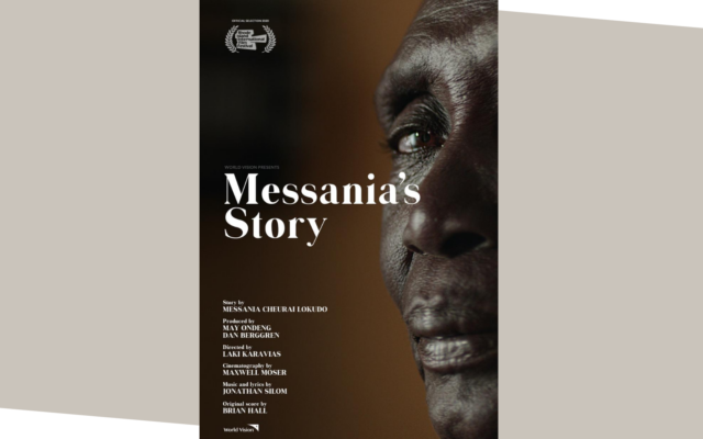 Messania's Story - poster for the short film that took home the GRAND Prize for Short Documentary Film from Flicker's Rhode Island International Film Festival (RIIFF).