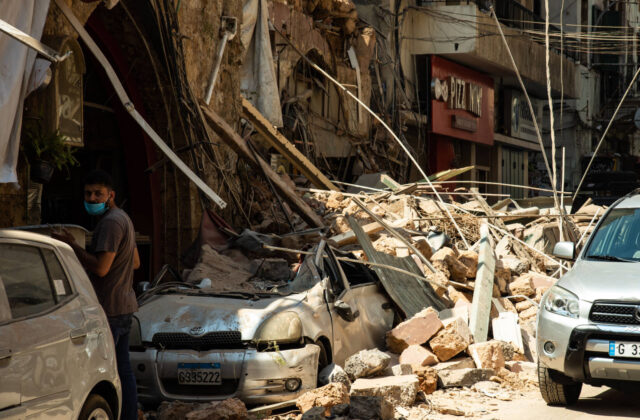 Beirut explosion: People in Lebanon were stunned by a huge explosion in Beirut port, which caused many casualties and massive destruction throughout the city.