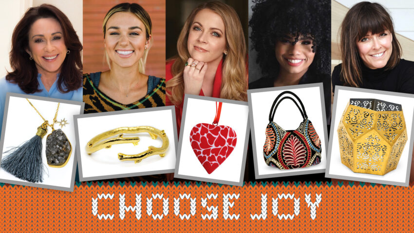 In a year like no other, we could all use an extra dose of joy. Why not share a little more with your loved ones this Christmas? It's easy — with gifts that give back through the World Vision Gift Catalog. This season's catalog features handcrafted jewelry and home décor items designed by celebrities like Sadie Robertson Huff, Patricia Heaton, Melissa Joan Hart, Wé McDonald, and Leanne Ford. Each unique gift helps empower people to rise out of poverty by meeting specific, urgent needs through the World Vision Fund. Learn the stories of the artisans behind these beautiful gifts that change lives.