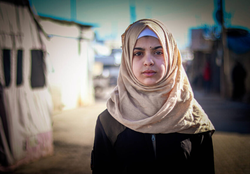 Ten Syrian refugee teens reflect on what their life is like now and their dreams for the future