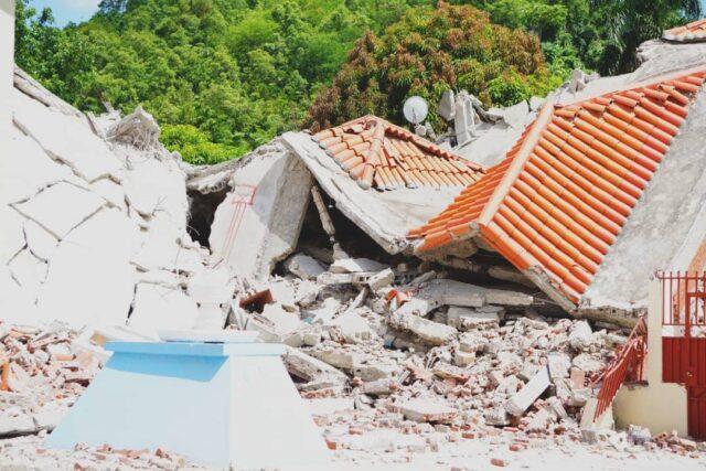 Haiti 2021 earthquake damage