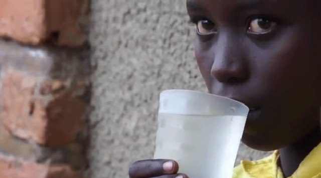 The lives of an estimated 2.2 million children each year could be saved globally through safe water, sanitation, and hygiene programs, universally applied. Image from video.