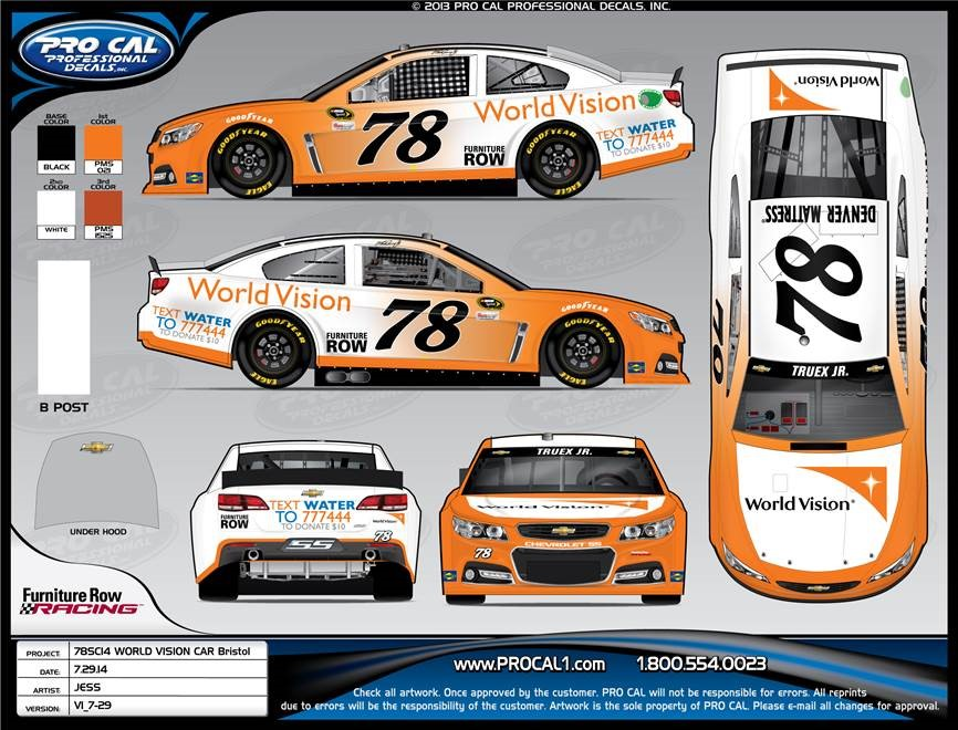 World Vision Hopes to Rev NASCAR Fans Giving Engines for ...
