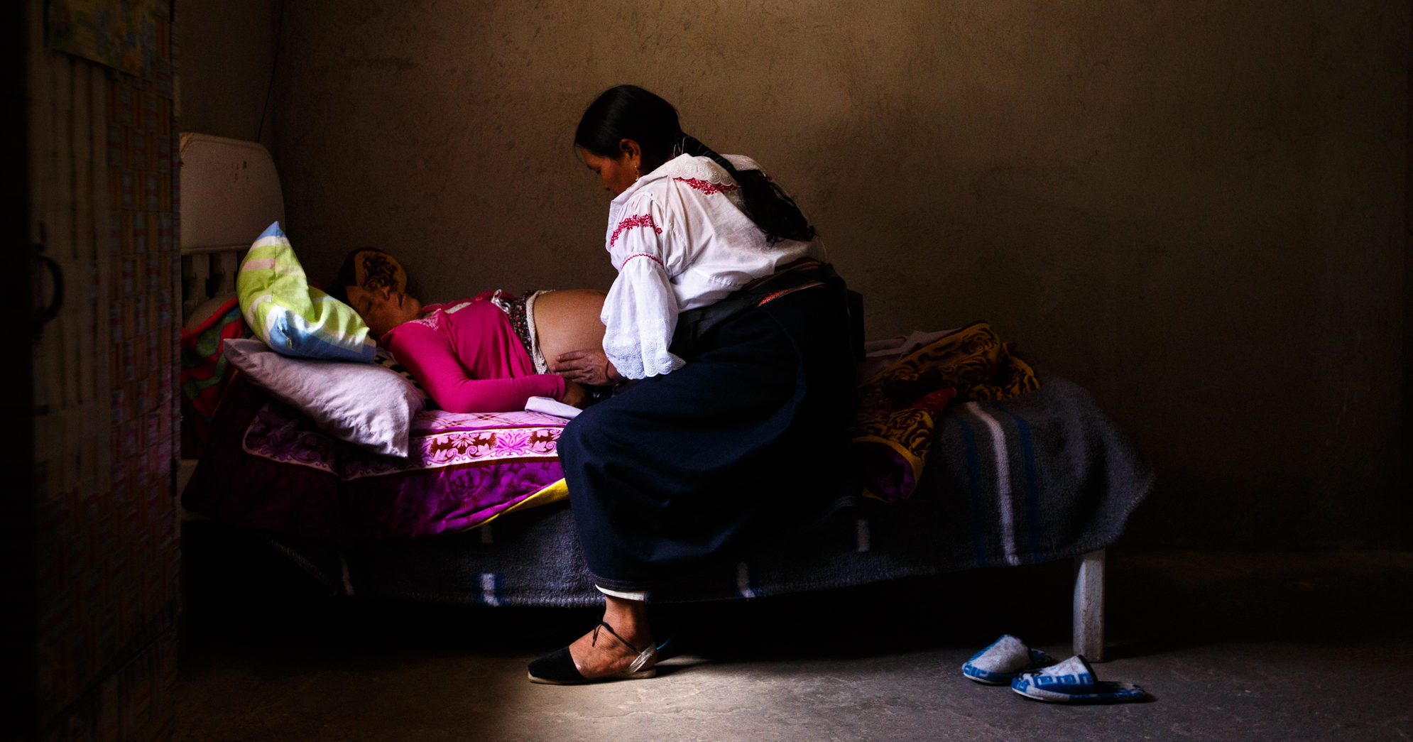 The tender care of a midwife makes the difference for moms