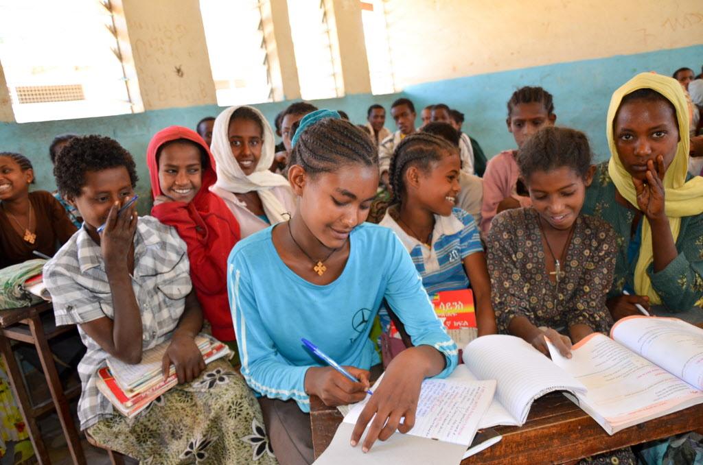 Early marriage survivor, Ethiopian girl. © 2012 Aklilu Kassaye/World Vision