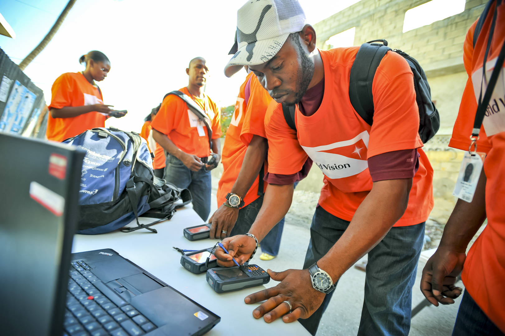 World Vision's Last Mile Mobile Solutions technology is revolutionizing how disaster survivors receive food, cash, and relief supplies in their time of greatest need.