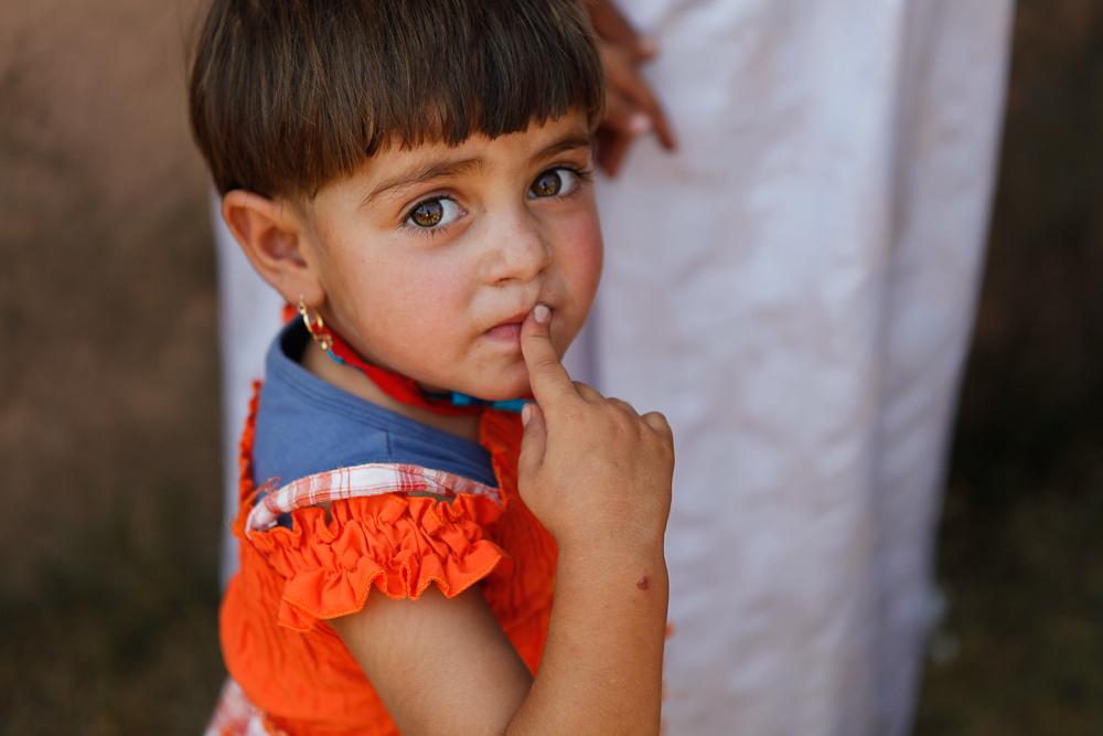 Syrian refugee child. PHOTO: Meg Sattler / World Vision