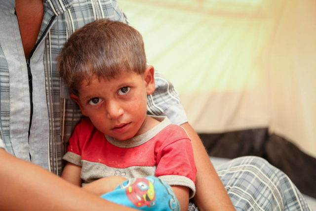 Iraqi boy from Mosul