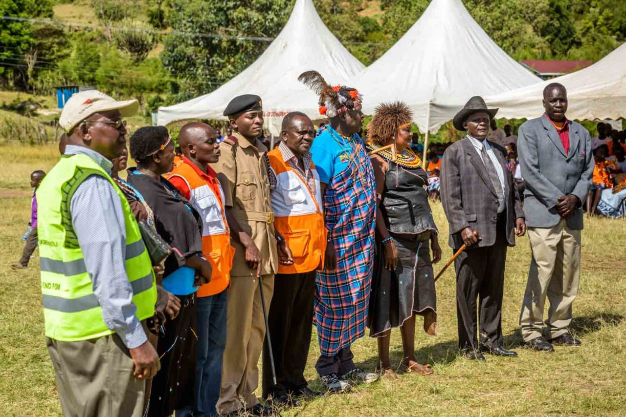 With a joyous celebration, teens in rural West Pokot, Kenya, are leaving painful, dangerous female genital mutilation (FGM) and early marriage behind.