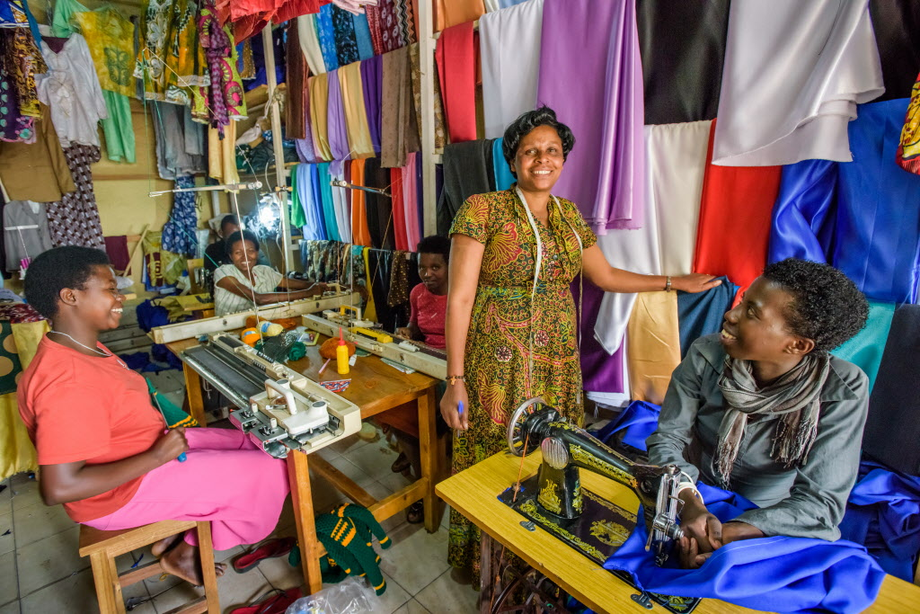 Thanks to World Vision microloans, Jacqueline employs 15 people full time.